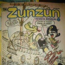 Cómics: CUBA. ZUNZÚN. Nº 114. ABRIL, 1992.. Lote 148220842