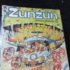 Cómics: CUBA. ZUNZÚN. Nº 96. MARZO, 1990.. Lote 148222062