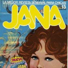 Cómics: JANA - REVISTA SEMANAL PARA CHICAS- Nº 13- PURITA CAMPOS- COMOS-M.BARRERA-1983-CORRECTO-LEAN-0067. Lote 148237742