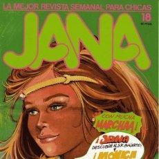 Cómics: JANA - REVISTA SEMANAL PARA CHICAS- Nº 18- PURITA CAMPOS- COMOS-M.BARRERA-1983-MUY BUENO-LEAN-0069. Lote 148239298