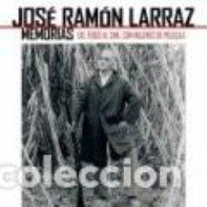 Cómics: JOSE RAMON LARRAZ MEMORIAS, DEL TEBEO AL CINE CON MUJERES DE PELICULA - EDT -IMPECABLE - OFI15. Lote 148239302