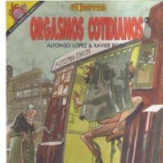 Cómics: EL JUEVES N,77 ORGASMOS COTIDIANOS. Lote 148365778
