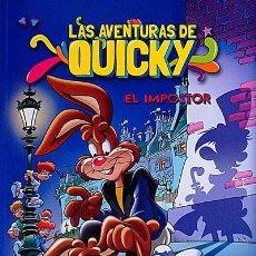 Cómics: ALBUM DE NESQUIK : LAS AVENTURAS DE QUINCKY , EL IMPOSTOR .... 2 ª EDICION 2015. Lote 148368334