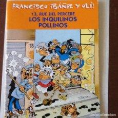 Cómics: 13 RUE DEL PERCEBE LOS INQUILINOS POLLINOS. Lote 148399628