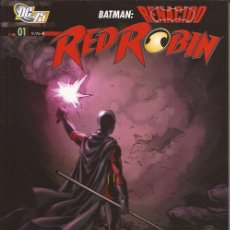 Cómics: COMIC- RED ROBIN 1 LA BÚSQUEDA DE BRUCE WAYNE DC COMICS PLANETA. Lote 148420130