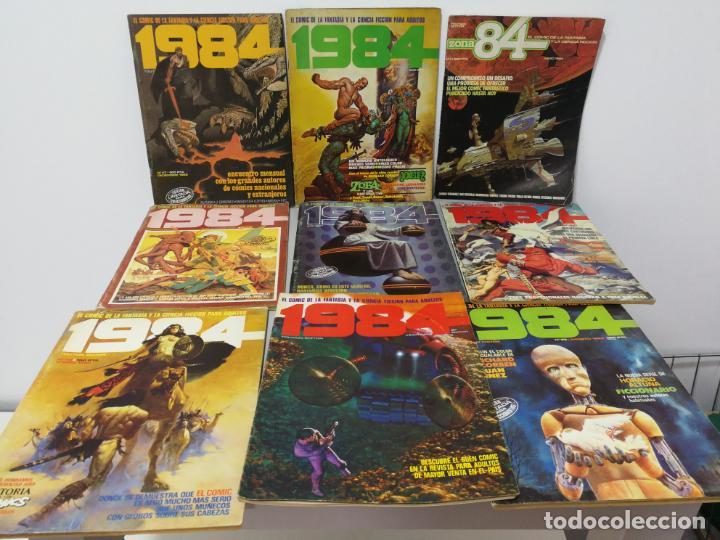 LOTE COMICS 1984 (Tebeos y Comics Pendientes de Clasificar)