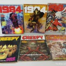Cómics: LOTE COMICS 1984 CREEPY. Lote 148446654