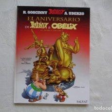 Cómics: GOSCINNY/UDERZO. EL ANIVERSARIO DE ASTÉRIX Y OBELIX EL LIBRO DE ORO. 2009. PRIMERA EDICIÓN.. Lote 148490026