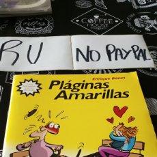 Cómics: PLÁGINAS AMARILLAS ENRIQUE BONET BATRACIO AMARILLO. Lote 148556821