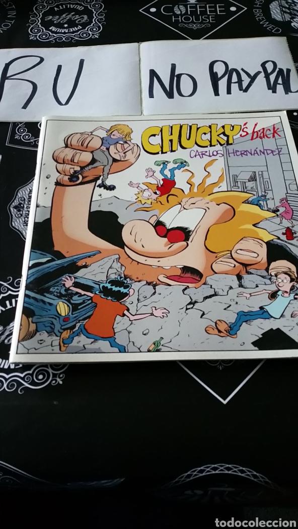 CHUCKY, S BACK CARLOS HERNÁNDEZ BATRACIO AMARILLO (Tebeos y Comics - Comics otras Editoriales Actuales)