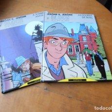 Cómics: JEROME K. JEROME BLOCHE. Nº 1 Y 2 . XERAIS 1ª EDICIÓN 1990 TAPA DURA.- EN GALLEGO. Lote 148564566