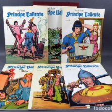 Cómics: EL PRÍNCIPE VALIENTE Nº 7 8 9 10 11 12 BO HAROLD R FOSTER 1978 CON TAPAS. Lote 148809018