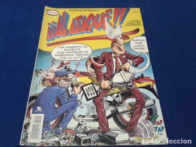 COMIC REVISTA Nº 17 ( AL ATAQUE CON POSTER ) 1993 DE ALFONSO ARUS (Tebeos y Comics Pendientes de Clasificar)