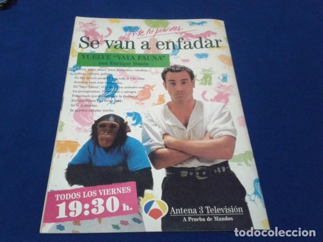 Cómics: COMIC REVISTA Nº 17 ( AL ATAQUE CON POSTER ) 1993 DE ALFONSO ARUS - Foto 2 - 148831566