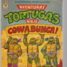 Cómics: AVENTURAS TORTUGAS NINJA. Nº 22. EASTMAN AND LAIRD. . (RF.MA)Ñ5. Lote 148967394
