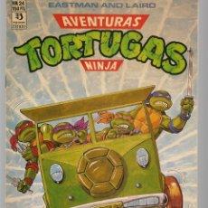 Cómics: AVENTURAS TORTUGAS NINJA. Nº 24. EASTMAN AND LAIRD. . (RF.MA)Ñ5. Lote 148967778
