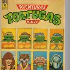Cómics: AVENTURAS TORTUGAS NINJA. Nº 41. EASTMAN AND LAIRD. . (RF.MA)Ñ5. Lote 148968374