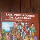 Cómics: COSAS DE CANARIAS - LOS POBLADORES DE CANARIAS- COMICS COLOR. Lote 149220090