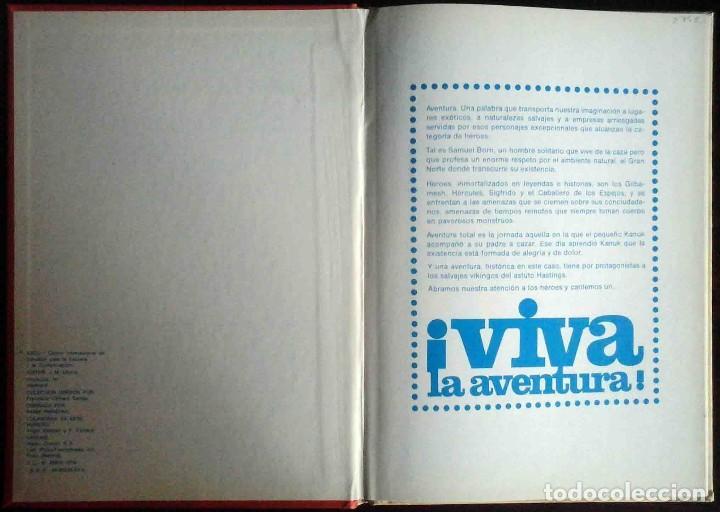 Cómics: Viva la aventura - Esco 1979 - Tapa dura. - Foto 2 - 149265134