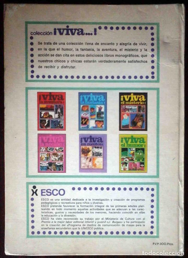 Cómics: Viva la aventura - Esco 1979 - Tapa dura. - Foto 6 - 149265134