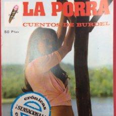 Comics : LA PORRA Nº1. Lote 149307670