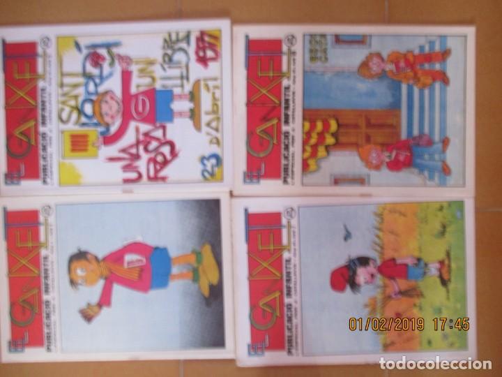 EL GANXET -REUS, 1976 -LOTE DE 8 -NºS: 1,2,3,4,7,5,9,10 (Tebeos y Comics Pendientes de Clasificar)