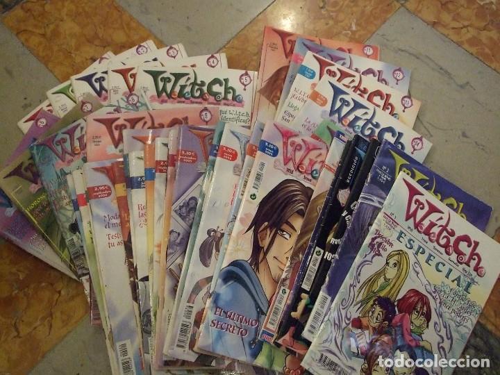 GRAN LOTE WITCH 37 NUMEROS - DISNEY COMPANY 2003 - 1ª EDICION (Tebeos y Comics - Comics otras Editoriales Actuales)