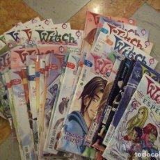 Cómics: GRAN LOTE WITCH 37 NUMEROS - DISNEY COMPANY 2003 - 1ª EDICION. Lote 149587078