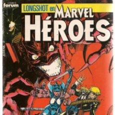 Cómics: LONGSHOT EN MARVEL HÉROES. Nº 20. FORUM. (C/A16). Lote 149628098