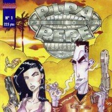 Cómics: PIPA PISTOLA Y PEPE CULATA Nº 1 - IMAGENES COMICS - BUEN ESTADO. Lote 149639374