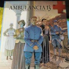Cómics: AMBULANCIA 13 - EL ROSTRO DE LA GUERRA- YERMO CÓMIC BD. Lote 149660245
