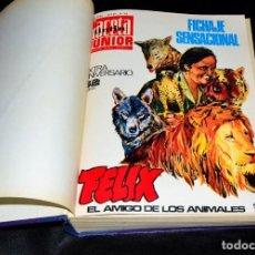 Cómics: IMPRESIONANTE LIBRO DE COMICS Y TEBEOS TINTIN GACETA JUNIOR 1969-70 CIENTOS DE TEBEOS Y COMICS. Lote 173482010