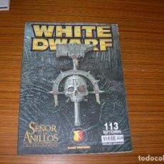 Cómics: WHITE DWARF EL SEÑOR DE LOS ANILLOS EDITA. Lote 150003218