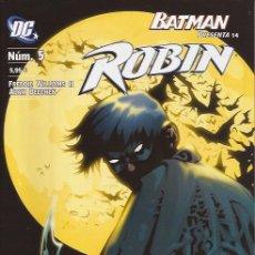 Cómics: COMIC ROBIN Nº 5 DC COMICS PLANETA BATMAN. Lote 150079290
