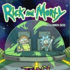 Cómics: RICK AND MORTY.VOL. 6.NORMA EDITORIAL. Lote 150157766