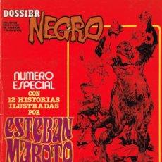Cómics: DOSSIER NEGRO.ESPECIAL ESTEBAN MAROTO.. Lote 150158186