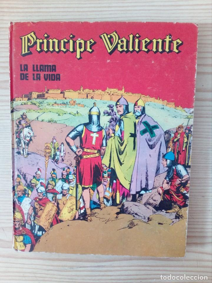 PRINCIPE VALIENTE - LA LLAMA DE LA VIDA - NUMERO 4 - BURU LAN - 1972 (Tebeos y Comics - Buru-Lan - Principe Valiente)