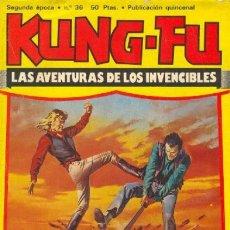 Cómics: KUNG FÚ- Nº 36 -EL MEJOR DE LOS MEJORES-1977-JORDI BERNET-JULIO VIVAS-AMADOR-CORRECTO-RARO-LEAN-0167. Lote 150297660