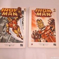 Cómics: IRON MAN COMIC EL MUNDO 2 VOLUMENES. Lote 150325694