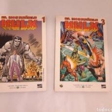 Cómics: HULK COMIC EL MUNDO 2 VOLUMENES. Lote 150325788