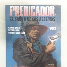 Cómics: PREDICADOR - EL SANTO DE LOS ASESINATOS. ED VERTIGO. Lote 150592504