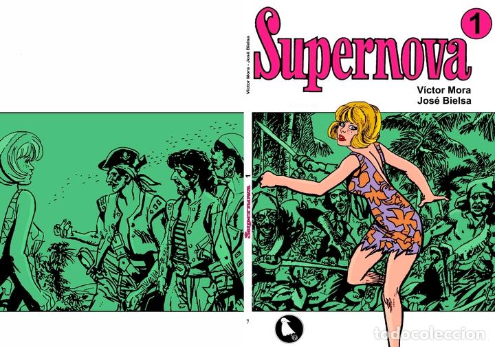 Cómics: Los Fantasmas album numero 07: Supernova volumen 1 - Foto 1 - 113959355