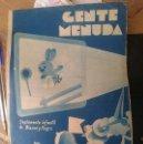 Cómics: TEBEO AÑO 1934 - GENTE MENUDA -- CON PORTADAS ALGO MAL ESTADO. Lote 150696122