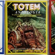 Cómics: LOTE DE 3 ANTOLOGÍAS DE TOTEM 1977 * UN TOTAL DE 19 NÚMEROS. Lote 150746514
