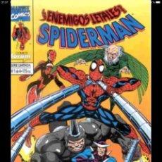 Cómics: LOTE 4 CÓMICS SERIE LIMITADA ENEMIGOS LETALES DE SPIDERMAN. FORUM COMPLETA. Lote 150811604