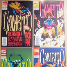Cómics: LOTE 4 CÓMICS SERIE LIMITADA GAMBITO. COMPLETA FORUM. Lote 150845240