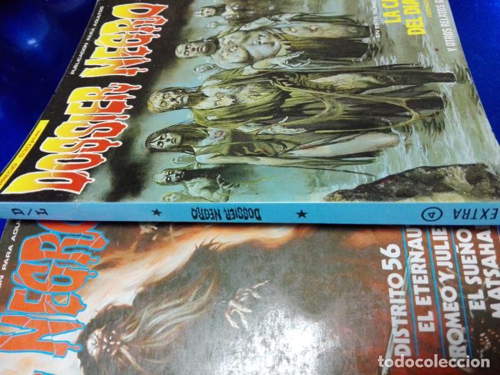 Cómics: 3 COMICS EXTRAS DE DOSSIER NEGRO Nº 1-4-5.-AÑOS 1970. - Foto 12 - 35725905