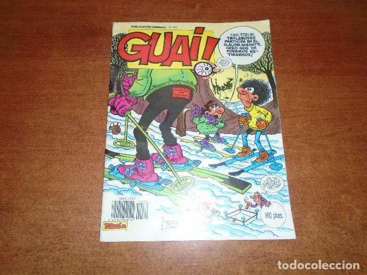 COMIC GUAI Nº 172 (Tebeos y Comics - Comics otras Editoriales Actuales)