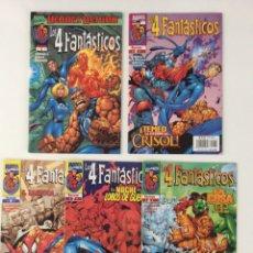 Cómics: LOTE 5 CÓMICS LOS 4 FANTÁSTICOS VOL.3 . FORUM (1-9). Lote 150954497