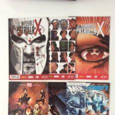 Cómics: LOTE 7 CÓMICS X-MEN/PATRULLA-X. VARIOS PANINI. Lote 150955154